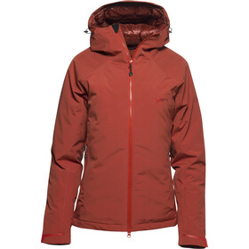 Yeti Rhonga Hardshell Down Jacket Damen cranberry red